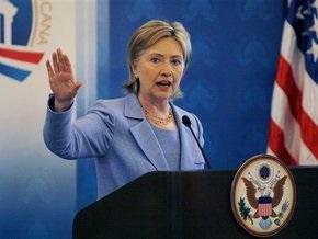 Хиллари Клинтон сломала руку