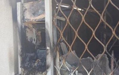 В Днепропетровской области сожгли единственный банкомат в селе