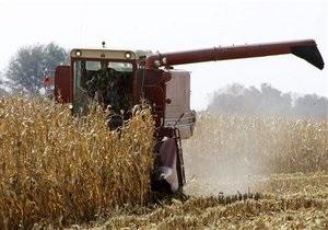 Украина существенно нарастила производство сельхозпродукции в прошлом году