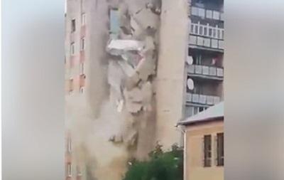 У Молдові завалився дев ятиповерховий будинок