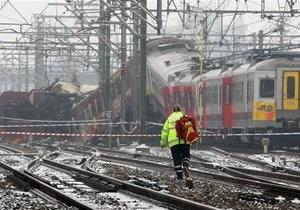 СМИ: Спасатели прибыли к месту столкновения поездов в Бельгии лишь через 45 минут после аварии