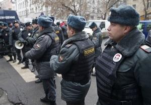 Акции оппозиции в России: В центре Москвы расположились около ста автобусов с полицескими