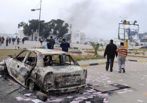 В Британии считают, что жертвами столкновений в Ливии стали около тысячи человек