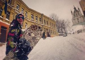 Фотогалерея: Киев накрыло. Аномальный снегопад взорвал Instagram