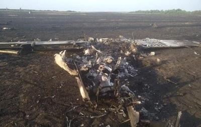Катастрофа літака на Харківщині: з явилися фото