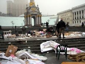Фотогалерея: Погром на Майдане