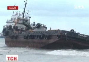 Шесть крупных судов сели на мель близ Панамского канала