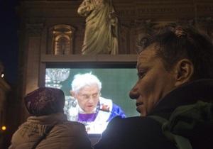 Папа Римский после отречения больше не будет появляться на публике