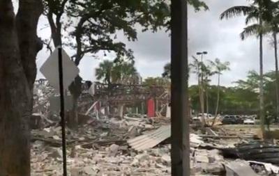Потужний вибух зруйнував торговий центр у США