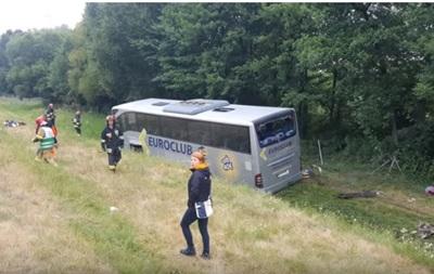 Український автобус потрапив у ДТП в Польщі