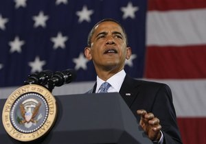 Обама официально объявил, что идет на второй срок