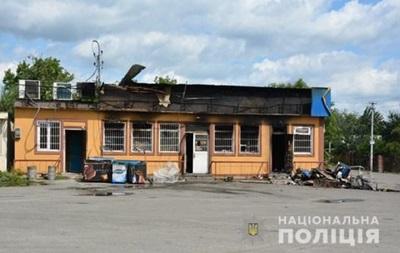 Під Києвом спалили магазин кандидата в нардепи