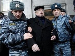 В центре Москвы задержан лидер нацболов Эдуард Лимонов