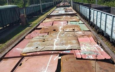 В Кривом Роге вагоны с металлоломом заменили на вагоны с мусором