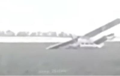 Пилот упавшего самолета Ан-2 сбежал с места аварии
