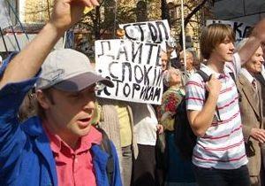 Львовский облсовет: Гламурные чекисты уничтожают историческую память украинцев