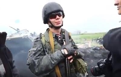 Появилось видео с Маркивым в Славянске в 2014 году