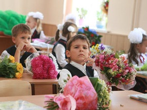 Внук Черновецкого пошел в первый класс