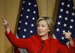 Клинтон пообещала возобновление израильско-палестинских переговоров