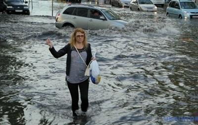 Воскресный ливень в Киеве побил полувековой рекорд