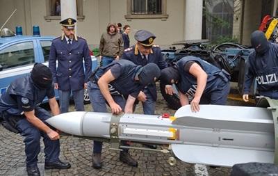 В італійців, які воювали на Донбасі, вилучили ракету