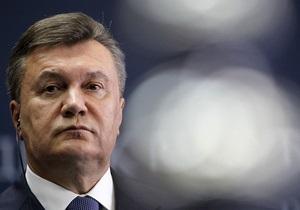Сегодня Янукович посетит Словакию