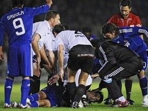 Футболист мадридского Реала потерял сознание во время матча