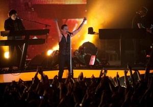 Интер снял фильм о приезде Depeche Mode в Киев