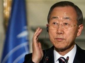 Пан Ги Мун передаст доклад о преступлениях в Газе в СБ ООН