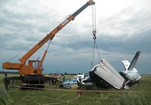 СМИ: Разбившийся под Киевом самолет с парашютистами несколько раз пытался зайти на посадку