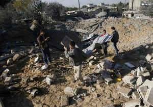ВВС Израиля нанесли удары по позициям боевиков в секторе Газа