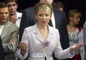 Сегодня Тимошенко отметит 50-летие