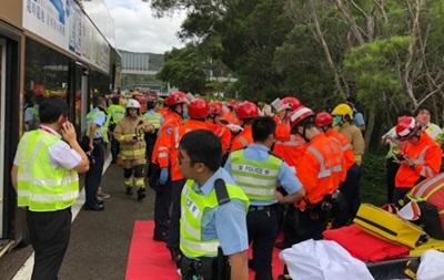 Два автобуси зіткнулися в Китаї: майже 80 постраждалих