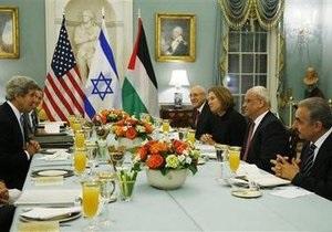 Израиль - Палестинцы и Израиль хотят договориться за 9 месяцев
