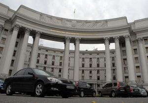 МИД: Украинских военных на территории Ливии нет