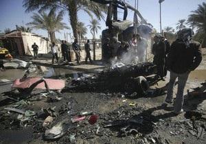 Серия терактов в Ираке: более 50 погибших