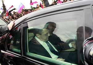 Асад заявил Лаврову, что оппозиция не идет на диалог