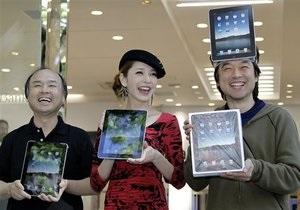 Стартовали продажи iPad за пределами США