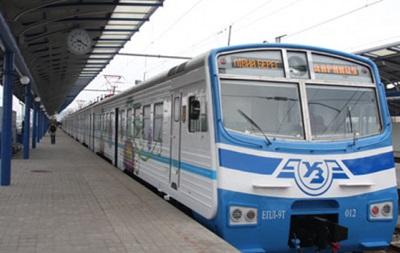 В Киеве отменили рейсы городской электрички