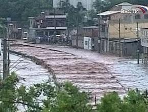 Наводнение на юге Бразилии: есть жертвы