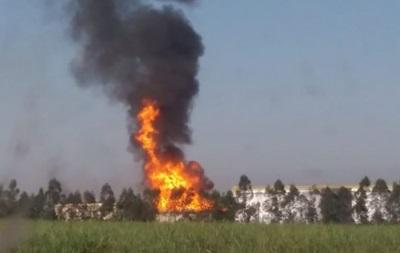 В Бразилии горит завод по производству биотоплива