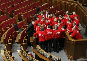 Оппозиция  констатирует безрезультатность переговоров по разблокированию работы Рады