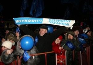 ФОМ: У Януковича наибольшие шансы стать президентом