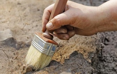 Скелет доисторического животного нашли в Винницкой области