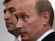 Путин поздравил Саакашвили с вторым сроком