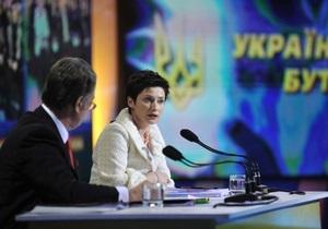Ванникова объяснила, почему Ющенко подписал изменения к закону о выборах