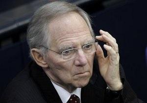 Министр финансов Германии попал в больницу во время антикризисных переговоров