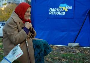 Партия регионов за минувший год получила более 325 млн грн доходов