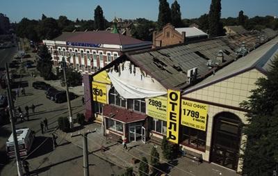 Появились фото и видео с места пожара в Одессе