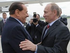 СМИ: Берлускони посетит частную вечеринку Путина